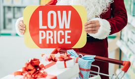 3d每年圣诞节贴现销售额冬天 免版税库存图片