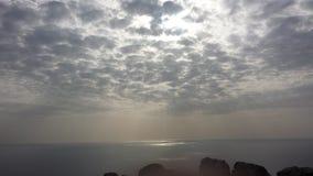 3d海洋回报场面天空 免版税库存图片