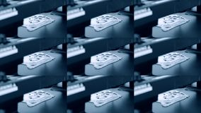 3d液体面团的打印机 3D打印机打印薄煎饼用液体面团 股票录像