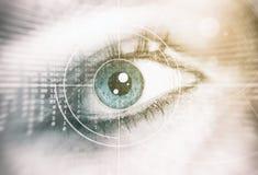 20d照相机eos眼睛人力宏观射击 背景概念查出的证券白色 库存照片