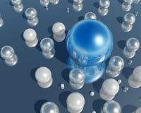 3D珍珠 免版税库存图片