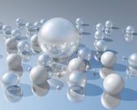3D珍珠 库存图片