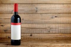 3d瓶高例证图象红色解决方法酒 库存照片