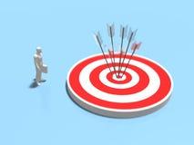 3D目标的例证 免版税库存图片