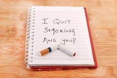 3d离开被回报的反图象抽烟 库存图片
