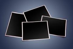 3d空白照片框架 图库摄影