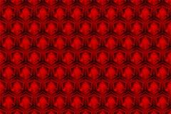 3d箱子红色是样式作为抽象背景 向量例证