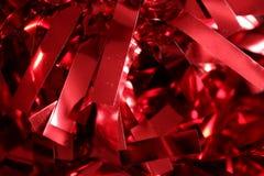 3d红色光纸背景 免版税库存图片