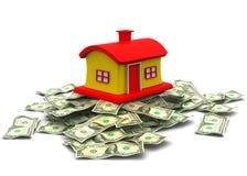 3d美元的房子 免版税库存图片
