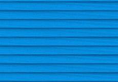 3d翻译 蓝色颜色松木镶板墙壁纹理背景 皇族释放例证
