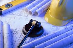 3d背景概念例证查出的法律回报了白色 劳方和建筑法律 图库摄影