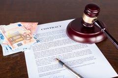 3d背景概念例证查出的法律回报了白色 免版税库存照片
