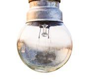 3d背景电灯泡高图象查出轻的解决方法白色 免版税库存照片