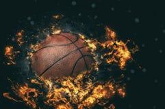 3d背景篮球被回报的例证可实现 免版税图库摄影
