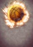3d背景篮球被回报的例证可实现 库存照片