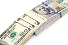 3d背景美元图象白色 免版税图库摄影