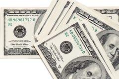 3d背景美元图象白色 库存图片