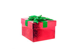 3d背景配件箱礼品图象白色 库存图片