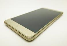 3d背景镜象smartphone白色 免版税库存图片