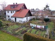 3d背景系列房子例证查出的白色 库存图片