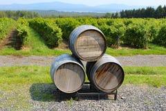 3d背景滚磨模型白葡萄酒 免版税库存照片