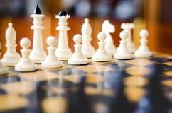 3d背景黑色棋形象高图象回报解决方法 免版税库存图片