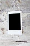 3d被回报的框架例证即时照片 库存图片