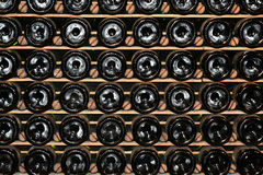 3d装瓶模型白葡萄酒 图库摄影