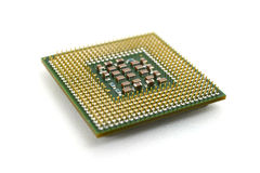 3d计算机模型处理器白色 库存照片