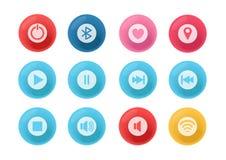 3d设计icon_version1 免版税库存图片
