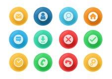 3d设计icon_version2 免版税库存照片