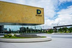 D运气电影剧院,芭达亚,泰国, 2017年10月5日 免版税图库摄影