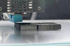 3D运转对buid原型的打印机 免版税库存照片