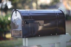 3d配件箱查出的邮件对象 图库摄影