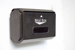 3d配件箱查出的邮件对象 库存照片