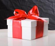 3d配件箱礼品图象白色 免版税库存照片