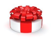 3d配件箱礼品图象白色 免版税图库摄影