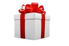 3d配件箱礼品图象白色 库存照片