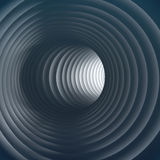 3D隧道 免版税库存照片