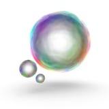 3d颜色泡影 库存照片