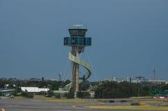 3d飞机背景例证旅行白色 库存图片