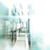 3d高回报解决方法技术隧道 免版税库存图片