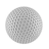 3D高尔夫球翻译  图库摄影
