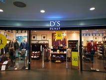 D «S Damat sklep w placu România obrazy stock
