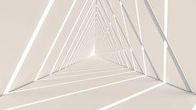 3d übertragen von der abstrakten Dreieckform vektor abbildung