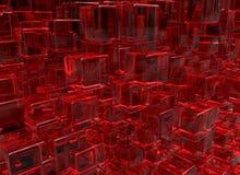 3D übertragen abstrakten Hintergrund Geometrieformen, das auf und ab geht stockbild