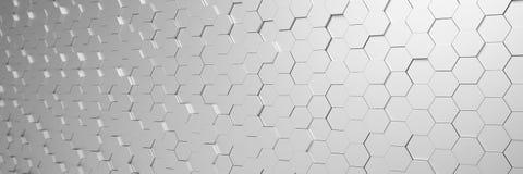 3d übertragen - abstrakter Hintergrund - Polygon - Silber Stockfotografie