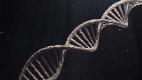 3d übertragen Struktur-Moleküle, die DNK sience drehen lizenzfreie stockfotografie