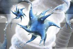 3d übertragen Virus Stockfoto