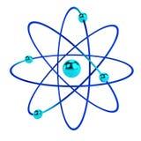 3d übertragen vom Atom Stockfotos